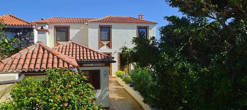 Authentic Canarian Finca with guest house